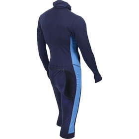 Aclima WarmWool 3/4 Overall Herr peacoat/brilliant blue
